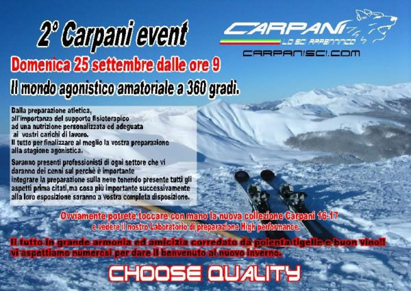 2° carpani event