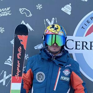Testimonial Carpani skis Tomas Cantero
